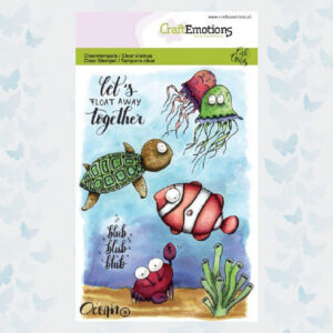 CraftEmotions clearstamps A6 - Ocean 3 Carla Creaties 130501/1623