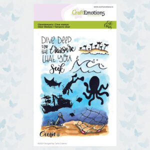 CraftEmotions clearstamps A6 - Ocean 6 Carla Creaties 130501/1626