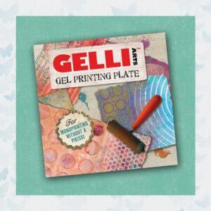 Gelli Arts - Gel Printing Plate 15.4x15.4cm 6X6 inch