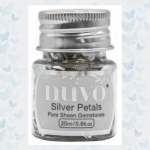 Nuvo Gemstones - Silver Rectangles 1403N