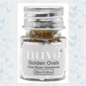 Nuvo Gemstones - Golden Ovals 1406N