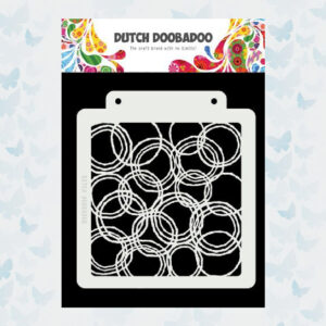 Dutch Doobadoo Dutch Mask Art Grunge Cirkels 470.715.179