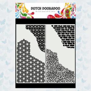 Dutch Doobadoo Mask Art Slimline Gebarsten Patronen 470.715.822