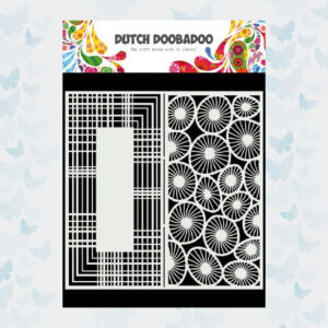 Dutch Doobadoo Mask Art Nr2 Slimline Cirkels 470.715.826