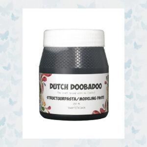 Dutch Doobadoo Dutch Structure Paste Smooth Zwart 870.000.090