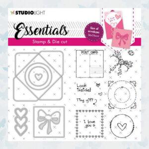 Studio Light Stamp & Cutting Die Essentials nr.56 BASICSDC56
