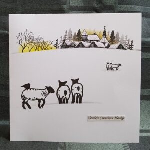 Card-io Clear Stamps Pine Forest CCSTPIN-02