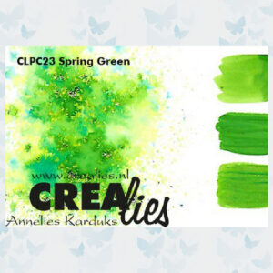 Crealies Pigment Colorzz Poeder Lentegroen CLPC23