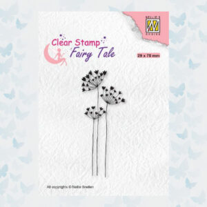 Nellie's Choice Clearstamp silhouette Fairy Tale Nr 30 FTCS030