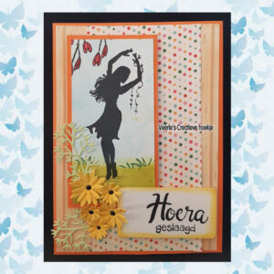 Nellies Choice Clearstempel Silhouette Fairy Tale Nr 34 Dancing FTCS034