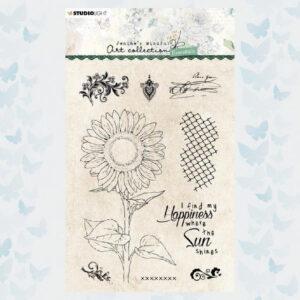 Studio Light Clear Stempel Jenine's Essentials Sunflower nr.66 JMA-ES-STAMP66
