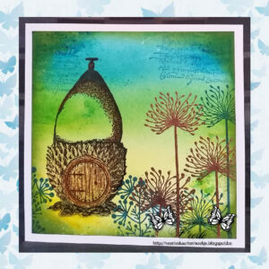 Lavinia Clear Stamp Dandelions LAV166