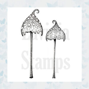 Lavinia Clear Stamp Spotty Toadstool LAV363