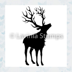 Lavinia Clear Stamp Reindeer Small LAV487