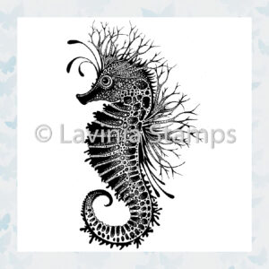 Lavinia Clear Stamp Sebastian the Seahorse LAV496