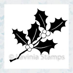 Lavinia Clear Stamp Mini Holly LAV510
