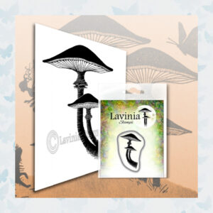Lavinia Clear Stamp Mini Forest Mushroom LAV564