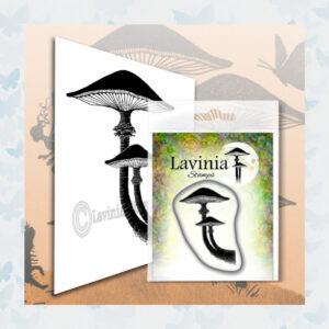 Lavinia Clear Stamp Forest Mushroom LAV565