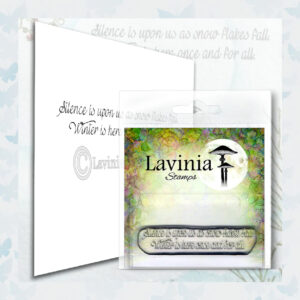 Lavinia Clear Stamp Silence LAV576
