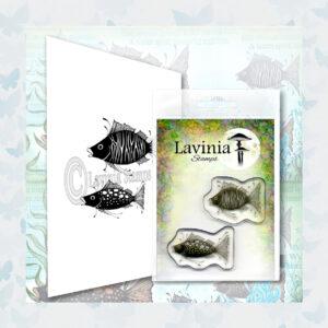 Lavinia Clear Stamp Fish Set LAV621