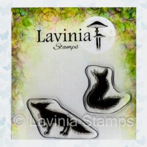 Lavinia Clear Stamp Fox Set 1 LAV635