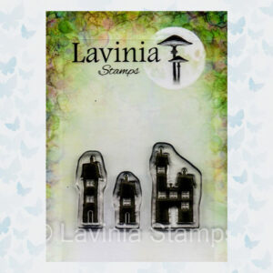 Lavinia Clear Stamp Small Dwellings LAV640