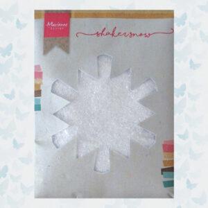 Marianne Design Fijne Shaker Sneeuw met glitter - 50 gr - LR0028