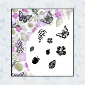 Majestix Clear Stamps Apple Blossom MAAP-01
