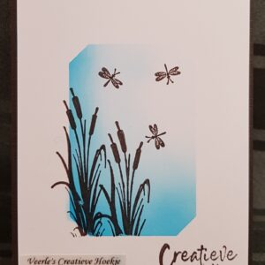 Nellie's Choice Mini clear stamps vlinders MAFS001