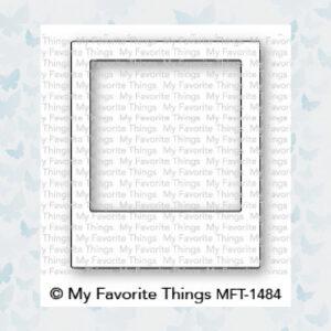 My Favorite Things Die-Namics Polaroid Shaker Frame (MFT-1484)