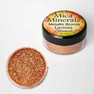 Lavinia Stamps Mica Minerals - Metallic Bronze