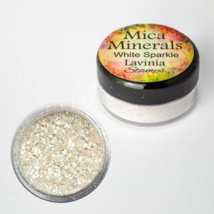 Lavinia Stamps Mica Minerals - White Sparkle