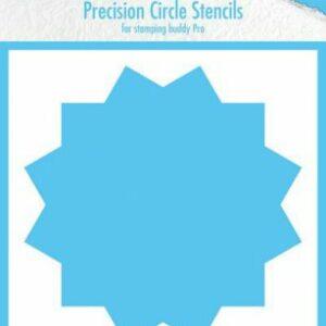 Nellie's Choice Precision Stencils 12-punts Cirkel MMPCS002