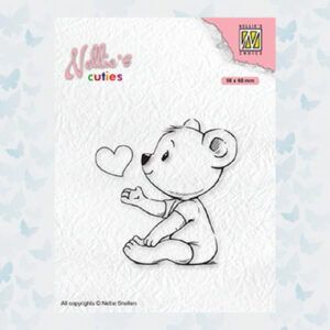 Nellies Choice Clearstempel - Cuties Love you mama NCCS009