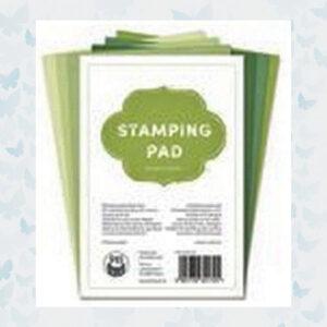 Piatek13 - Stamping Pad Groen Tinten P13-MIS-04