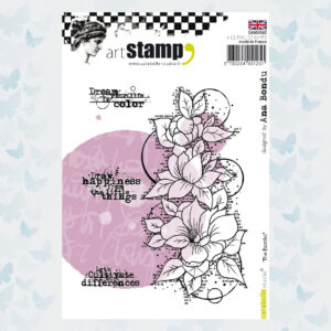 Carabelle Studio Rubber Cling Stamp A6 The Exotiks SA60306E