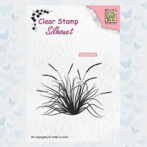 Nellies Choice Clearstempel - Silhouette bloeiend gras-2 SIL057
