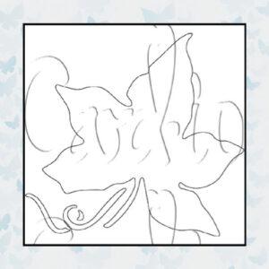 Card-io Majemask Stencil Ivy STIV-01