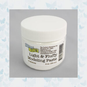 The Crafter's Workshop Light & Fluffy Modeling Paste (TCW9044)