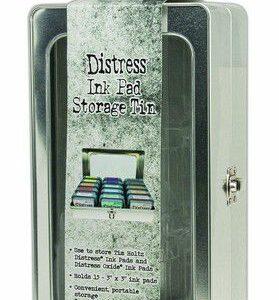 Ranger Tim Holtz Distress Pad Storage Tin - 15 Pads (leeg) TDA68075