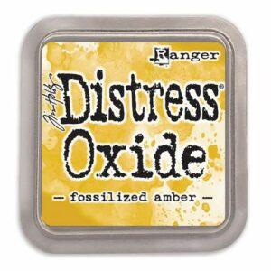 Ranger Distress Oxide - Fossilized Amber TDO55983 Tim Holtz