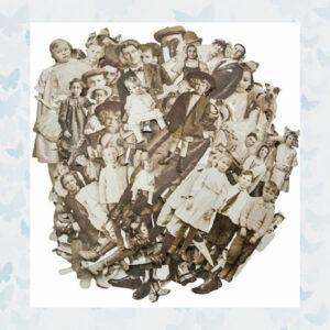 Idea-ology Tim Holtz Paper Dolls 107pcs TH93555