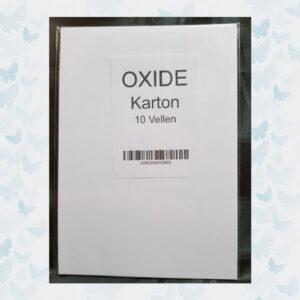 OXIDE Kaart karton 300grs Glad 000011/VC - 10 Vellen