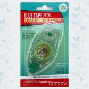 Tombow NAVULLING voor glue tape NON-permanent-blister 19-PR-MK