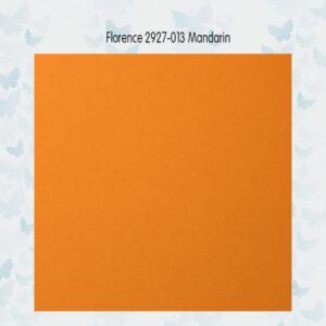 Florence Cardstock Glad 2927-013 Mandarin A4/10 Vellen/216gr
