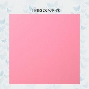 Florence Cardstock Glad 2927-019 Pink A4