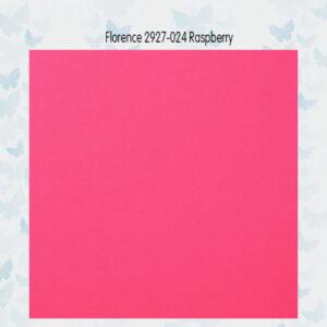 Florence Cardstock Glad 2927-024 Raspberry A4/10 Vellen/216gr
