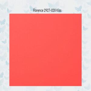 Florence Cardstock Glad 2927-028 Kiss A4/10 Vellen/216gr