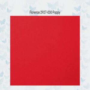 Florence Cardstock Glad 2927-030 Poppy A4/10 Vellen/216gr