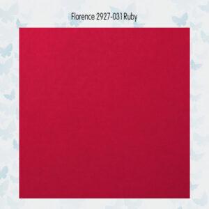 Florence Cardstock Glad 2927-031 Ruby A4/10 Vellen/216gr